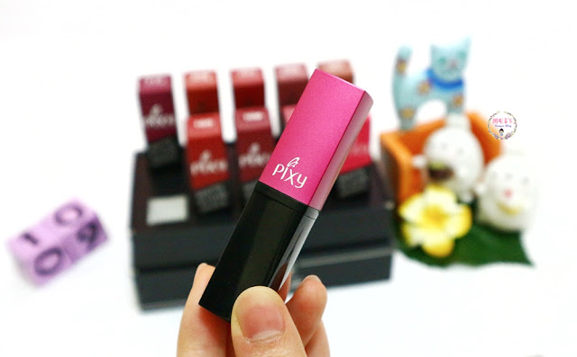Packaging PIXY Matte in Love Lipstick