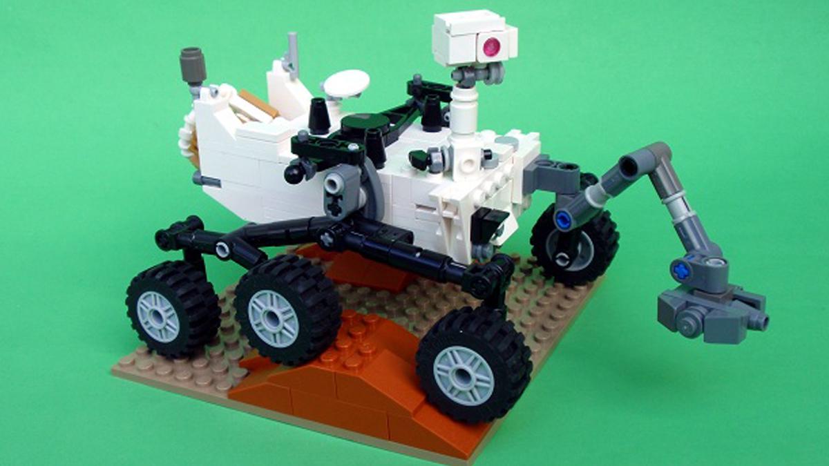 レゴクーソー次期製品が決定!火星探査ローバーキュリオシティ