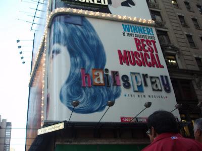 voir une comédie musicale à Broadway