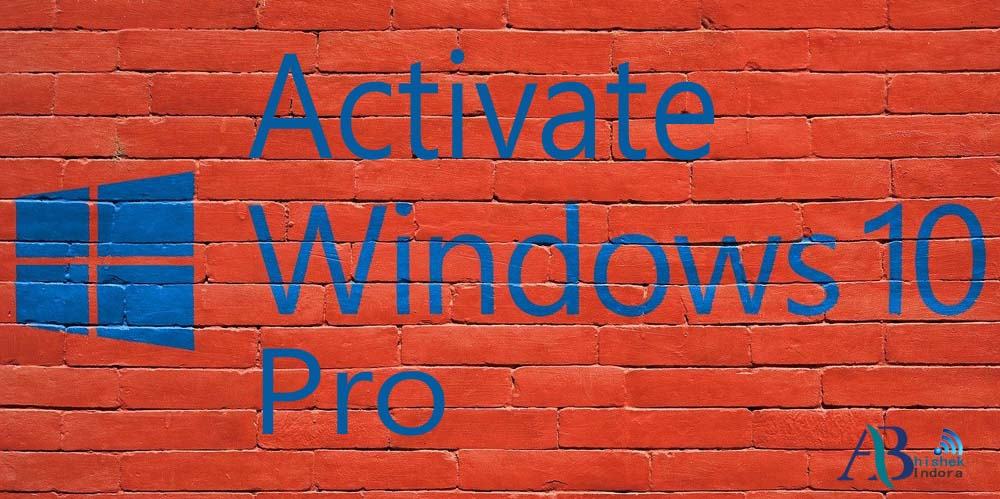 How-To-Activate-Windows-10-Pro-For-Free