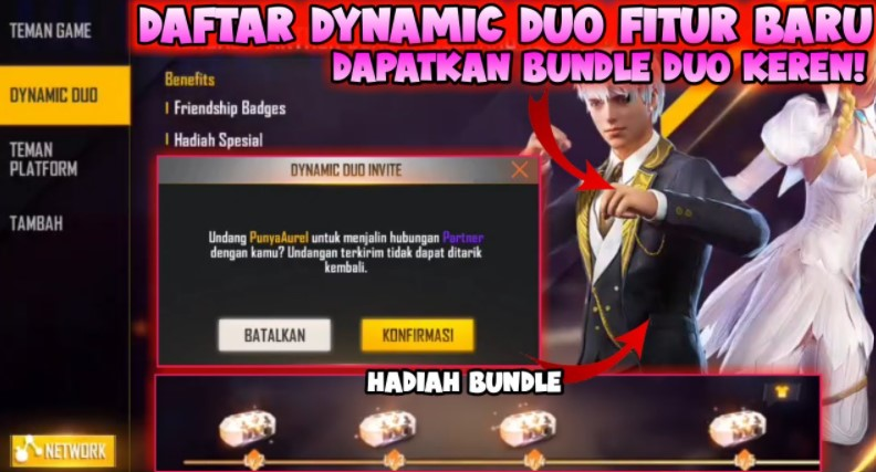 Cara Dynamic Duo FF