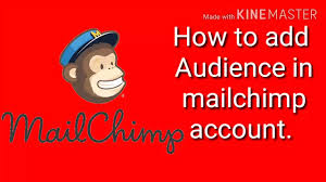 How to add Audience in mailchimp account. add subscriber email list in mailchimp account.