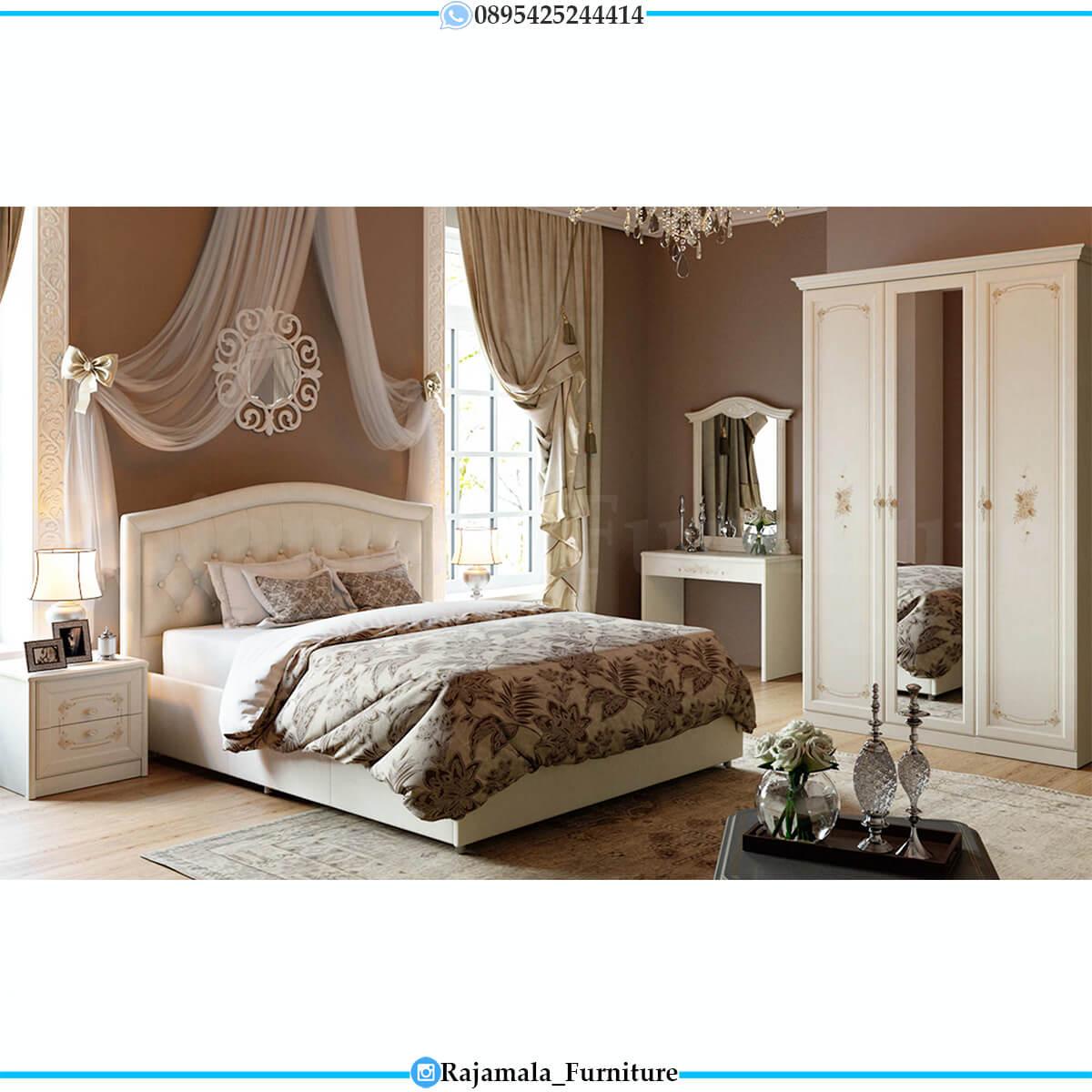 Tempat Tidur Minimalis Putih Duco Elegant Color RM-0696