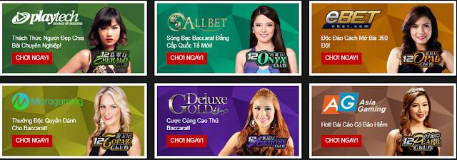 Live Casino 12BET - Điểm đến cho người chơi Việt Nam Tructuyen
