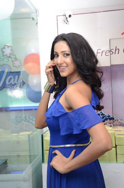 Priya Shri Stills At 7th Heaven Restaurant Launch