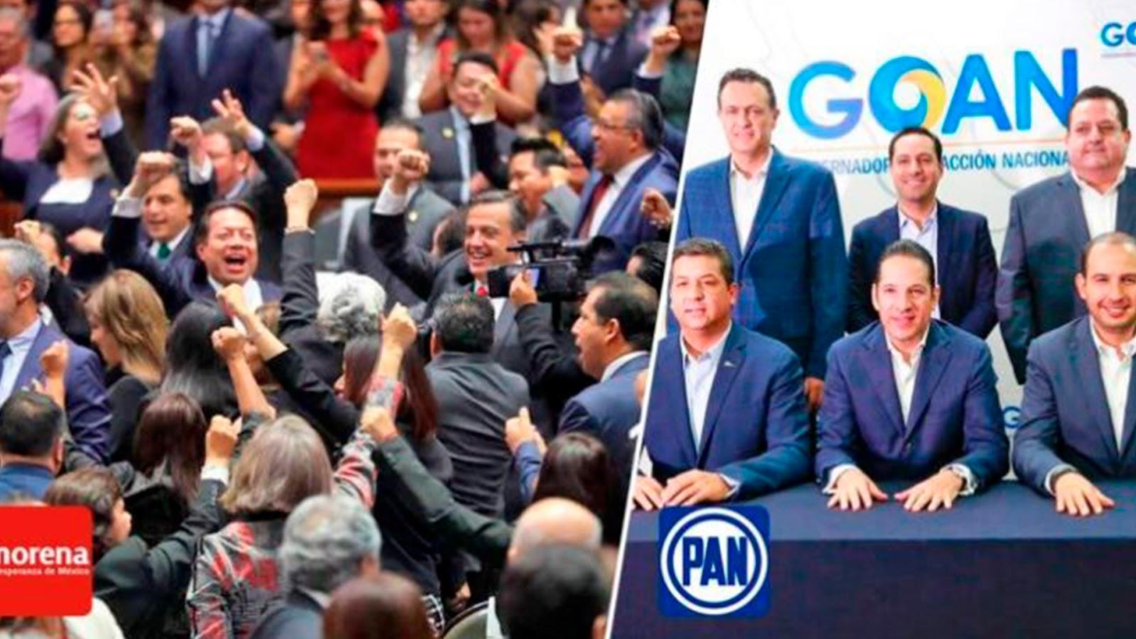 En encuesta de 100.000 votos, Morena arrasaría con el PAN con el 87% de los votos en elecciones del 2021