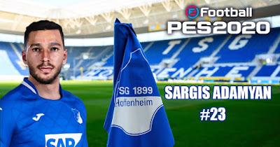 PES 2021 Faces Sargis Adamyan by Heywips