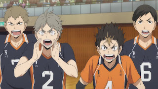 ハイキュー!! アニメ 3期8話   西谷夕 菅原孝支   Karasuno vs Shiratorizawa   HAIKYU!! Season3
