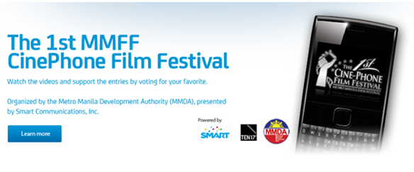 Smart, MMDA partners for First CinePhone Film Fest 2012