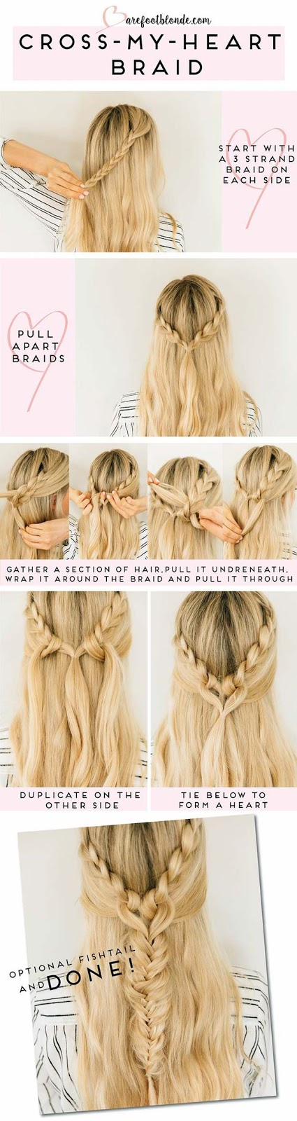 6 cutest easy braided hair tutorial in 10 minutes 2