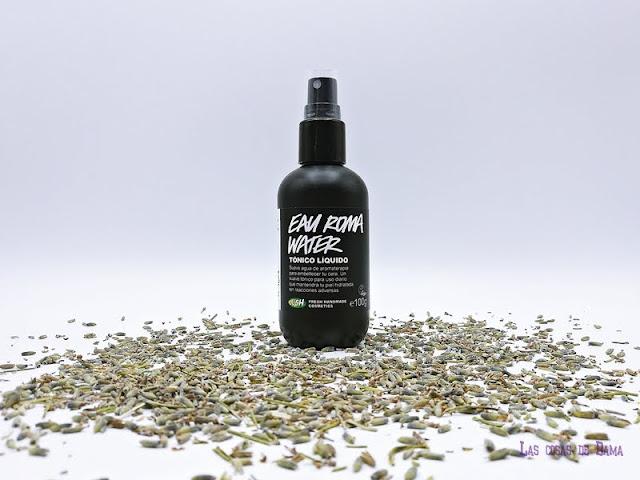 Lush Eau Roma Water cosmetica fresca skincare belleza beauty cuidado facial