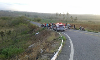 Jovem de 23 anos morre após perder o controle de moto próximo ao trevo de Barra de Santa Rosa