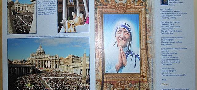 "Exhibit ""Mother Teresa – Saint from Skopje, Saint of the World"""