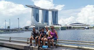 Hotel Marina Bay Sands de Singapur.