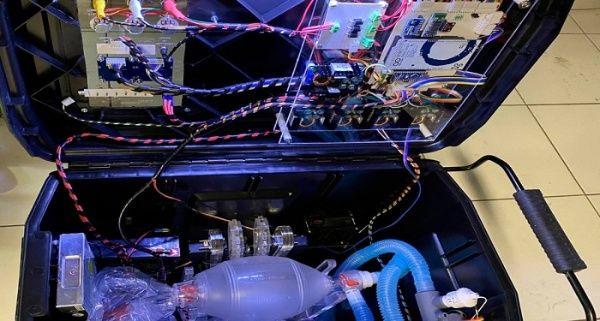 Investigadores mexicanos diseñan respirador portátil económico
