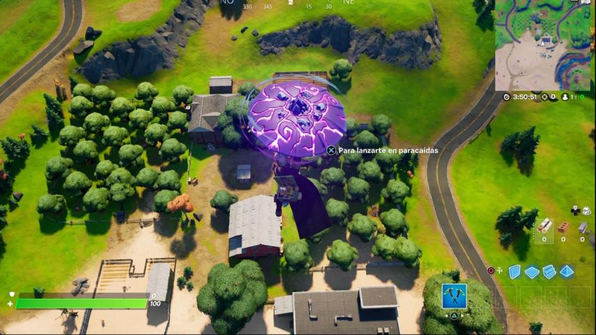Where is the Sunflower farm in Fortnite and where is the closest truck to quickly complete the challenge