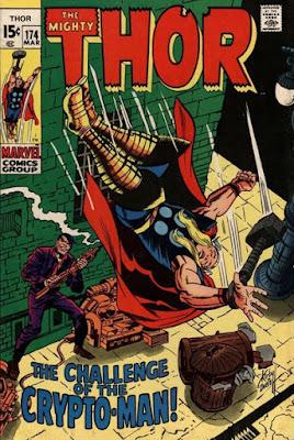 Thor #174, Crypto-Man