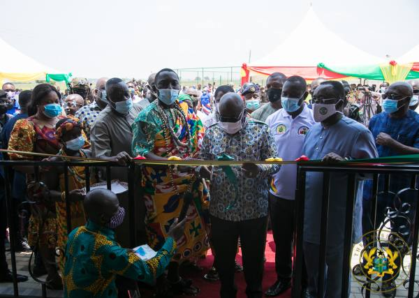 President Akufo-Addo Commissions NEIP's 75 Green Houses & Entrepreneurship And Innovation Centre