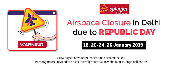 domestic and international air ticket booking - ahmedabad travel agent, best deal in air ticket booking, cheap air ticket booking agent in ahmedabad Airspace closure in DelhiDUE TO REPUBLIC DAY AIRSPACE CLOSURE AT DELHI, CERTAIN FLIGHTS SCHEDULE HAS BEEN REVISED. PLEASE FIND THE BELOW SCHEDULE FOR YOUR INFORMATION.Therefore you are requested to make the necessary changes and update the same on your portals please.  FLT NO    ORG    DES    DEP      ARR     DOP Effective dates 8637 JAI DEL 11:10 12:20 Daily      18,20-24,26 Jan    32 HKG DEL 9:10 12:30 Daily 18,20-24,26 Jan 8732 AIP DEL 14:20 15:30 Daily 18,20-24,26 Jan 8731 DEL AIP 12:45 14:00 Daily 18,20-24,26 Jan 8769 KQH DEL 17:15 18:20 Daily 18,20-24,26 Jan 8768 DEL KQH 15:50 16:55 Daily 18,20-24,26 Jan 130 CCU DEL 7:15 9:50 Daily 18,20-24,26 Jan 253 SXR DEL 15:00 16:35 Ex D 7 18,21-24,26 Jan 964 IXJ SXR 13:45 14:30 Ex D 7 18,21-24,26 Jan 963 SXR IXJ 12:20 13:15 Ex D 7 18,21-24,26 Jan 130 DEL SXR 10:30 11:50 Ex D 7 18,21-24,26 Jan 232 GAU DEL 13:45 16:35 D 7 20-Jan 231 DEL GAU 10:30 12:50 D 7 20-Jan 946 DEL SAG 13:45 15:40 Daily 20-Jan 478 JSA DEL 11:55 13:15 Daily 20-Jan 942 SAG DEL 16:25 18:05 Daily 20-Jan 478 JSA DEL 12:50 14:10 Daily 21,23,24 Jan 942 SAG DEL 17:55 19:35 Daily 21,23,24 Jan 946 DEL SAG 14:40 16:35 Daily 21,23,24 Jan 743 GAU AMD 20:40 23:45 Ex D7 29-Jan 740 AMD GAU 17:05 20:10 Ex D7 29-Jan 739 DEL AMD 15:30 16:35 Ex D 7 29-Jan 739 SXR DEL 13:30 15:00 Ex D 7 29-Jan 944 AMD MAA 0:15 2:30 Ex D7 30-Jan 9427703236, 8000999660, info@aksharonline.com Railway Ticket, Bus Ticket, Hotel Booking, Western Union Money Transfer and more