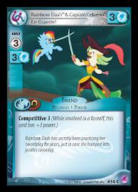 My Little Pony Rainbow Dash & Captain Celaeno, En Guarde! Seaquestria and Beyond CCG Card