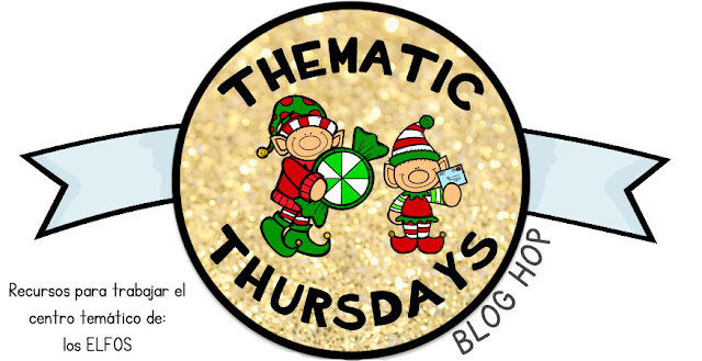 Thematic Thursdays: Elfos navideños {Blog hop}