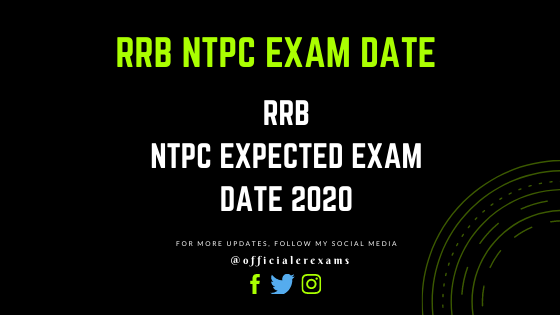 RRB NTPC Exam Date 2020 - RRB NTPC Expected Exam Date - ErExams - Engineering Exams Guidance RSS Feed  IMAGES, GIF, ANIMATED GIF, WALLPAPER, STICKER FOR WHATSAPP & FACEBOOK