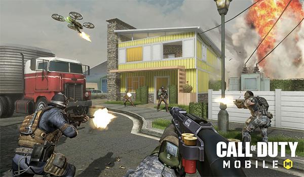 اساليب التحكم في لعبة Call of Duty Mobile على الجوال