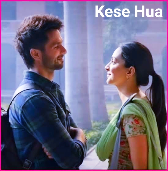 Kese Hua song lyrics Kabir singh