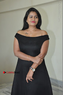 Telugu Actress Swathi Reddy Latest Stills in Black Gown  0030.JPG