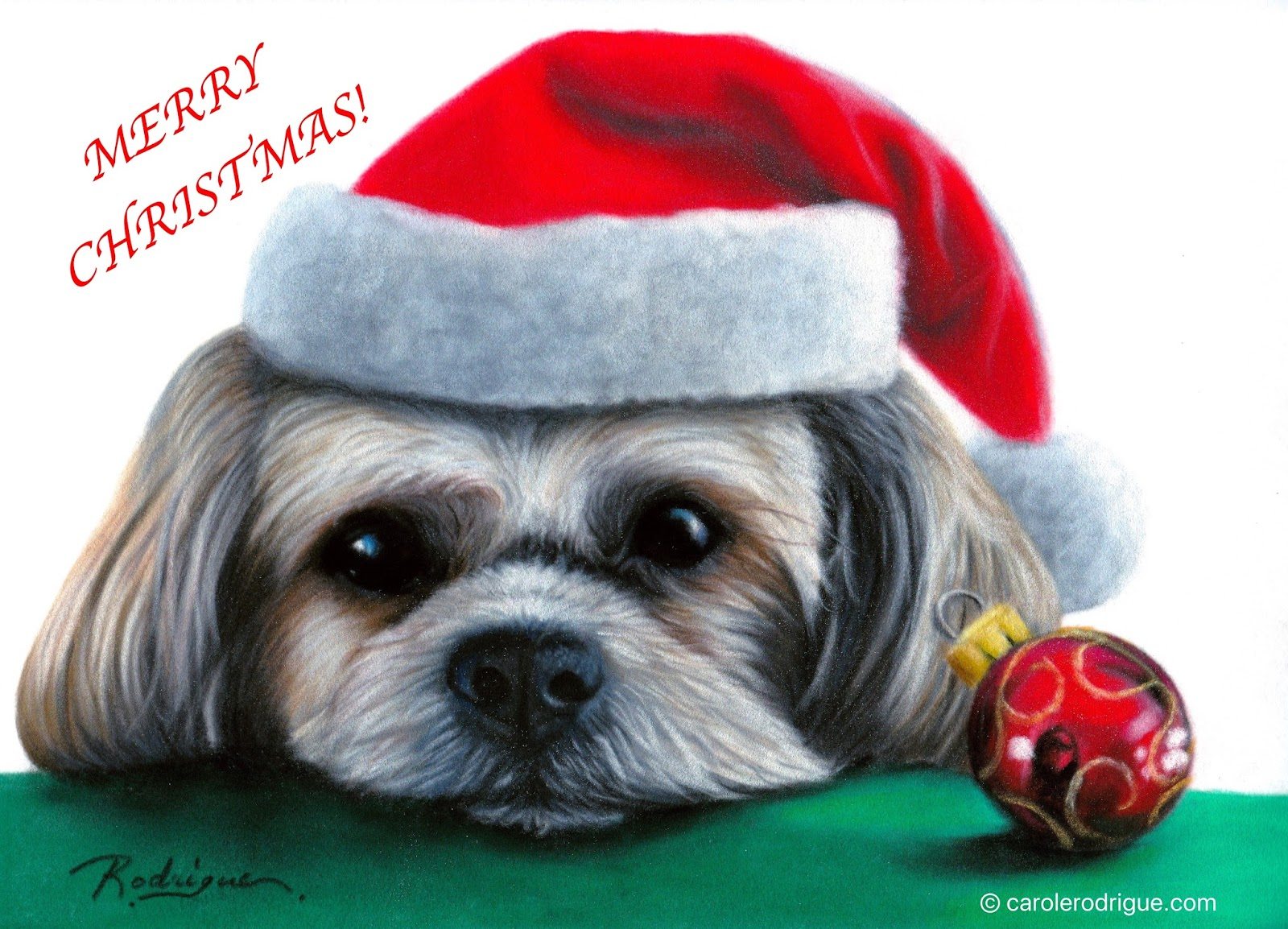 Carole Rodrigue Fine Artist Specializing in Pet Portraits and Still ...
