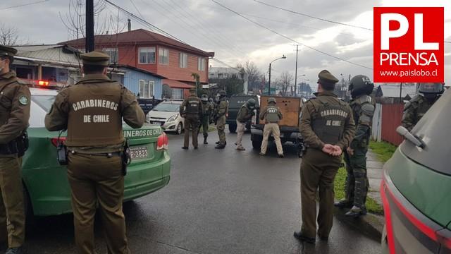 Osorno: Carabineros realiza operativo en Rahue
