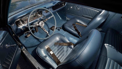 1965 Ford Mustang Prototype Interior