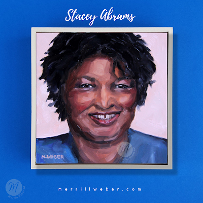 stacey-abrams-painting-portrait-merrill-weber