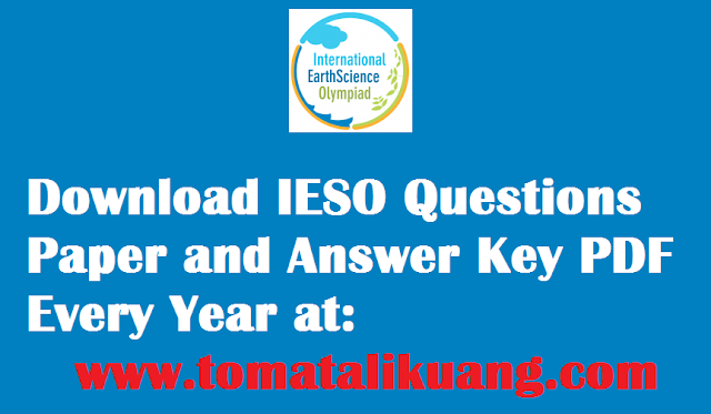 ieso international earth science olympiad question paper and answer key pdf tomatalikuang.com