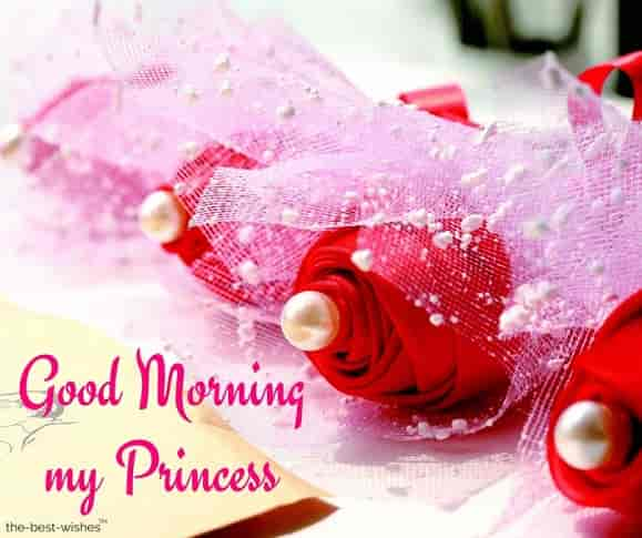 good morning my gorgeous princess