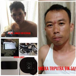 Terlibat Pencurian Bersama Rekannya, Andika Honorer Sat Pol PP Muba Dibekuk Polisi