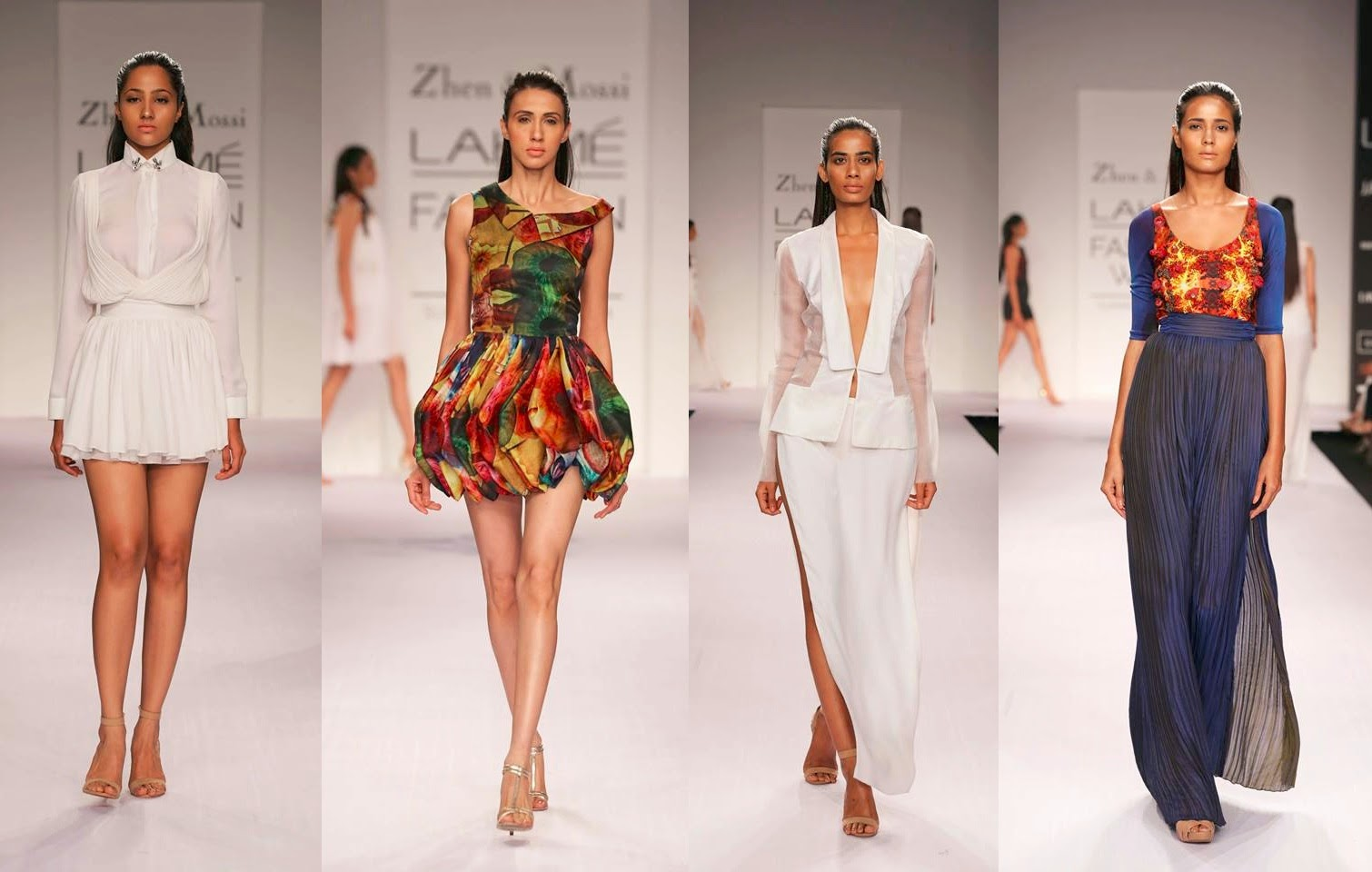 Zhen and Mossi Lakme Fashion Week 2014