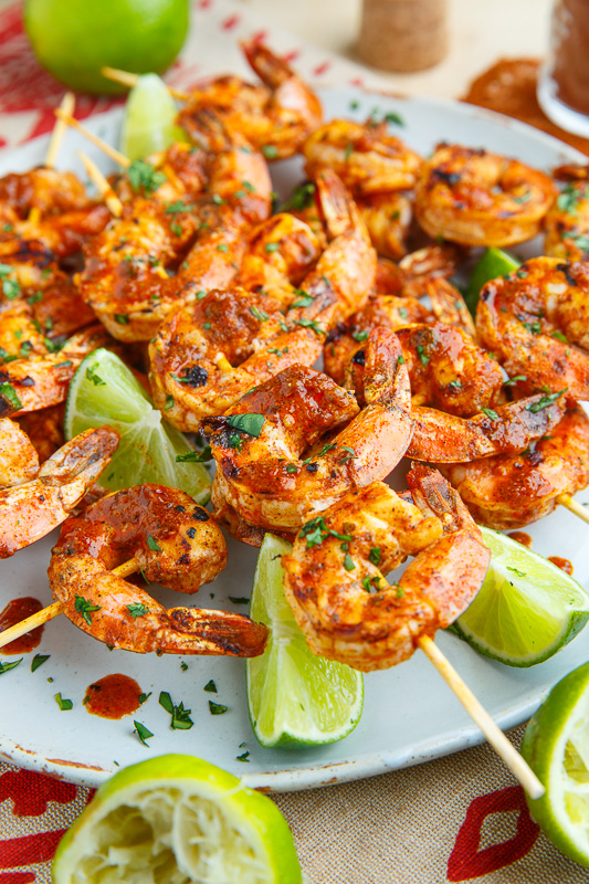 Taco Lime Grilled Shrimp