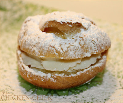 Easiest and best cream puffs recipe ever! via The Chicken Chick®