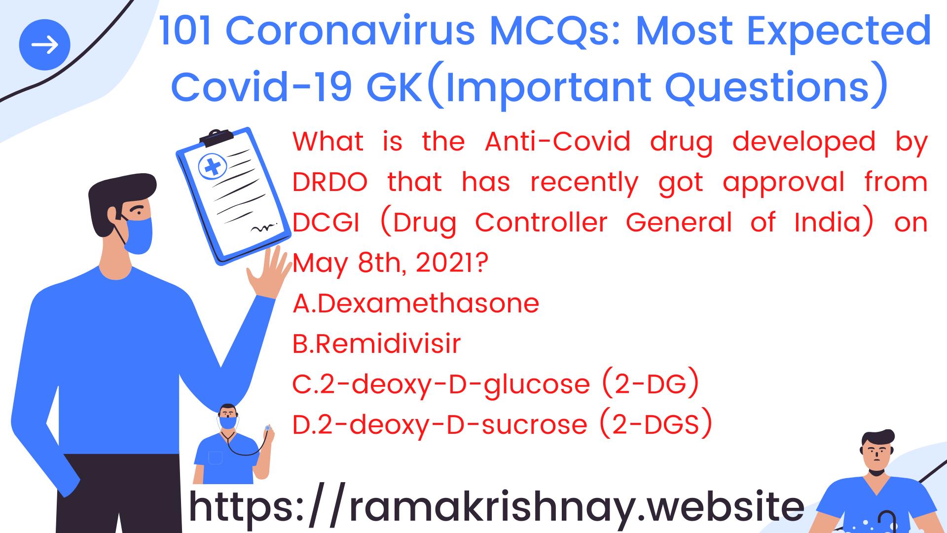 Coronavirus MCQs