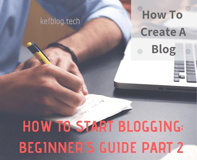How To Create A Free Blog On Google Blogger Platform