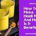 How To Make Haldi Milk, And Benefits Of Haldi Milk