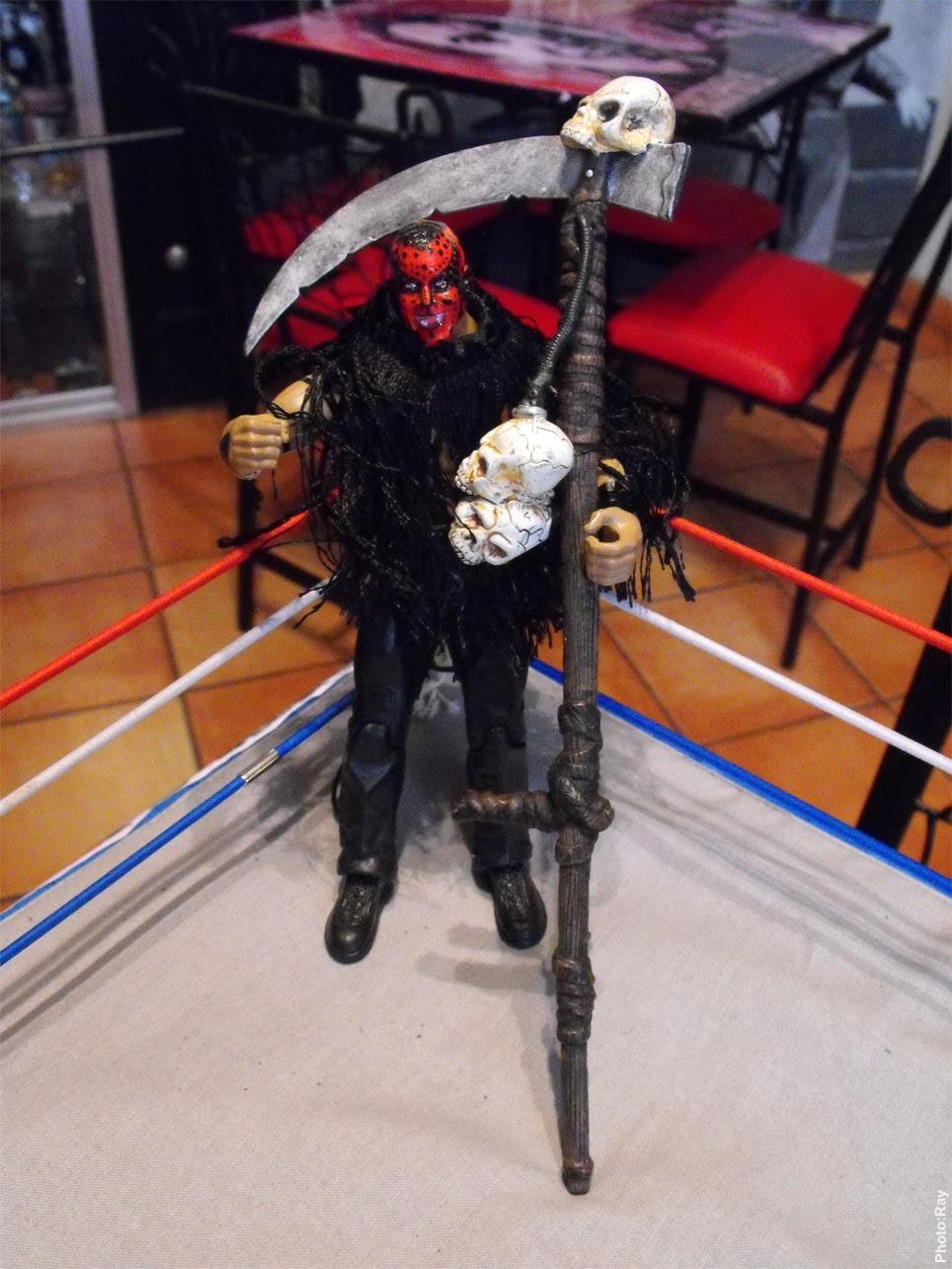 Monster Cafe Saltillo Custom Wwf Boogeyman Costume