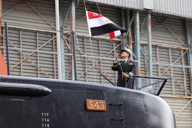 Egipto incorpora el tercer 209/1400 (S43) en el Astillero Thyssenkrupp