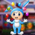 G4K Gorgeous Blue Bunny Escape
