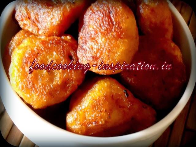 Taler bora/Fuluri - Palm and Banana fritters