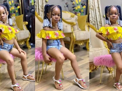 """"""" Her Mama No Get S.ense """" – See The Photo Of 4 Years Old Girl That Got Everyone Talking (Photos)"""