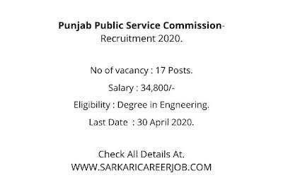 PPSC Vacancy 2020 | Manager Post PPSC Vacancies 2020 Notification.