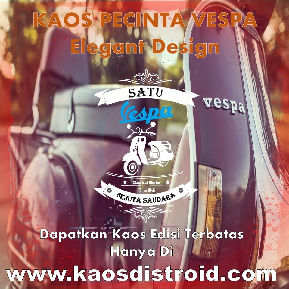 Jual Kaos Vespa Keren Online Terbaru 2018
