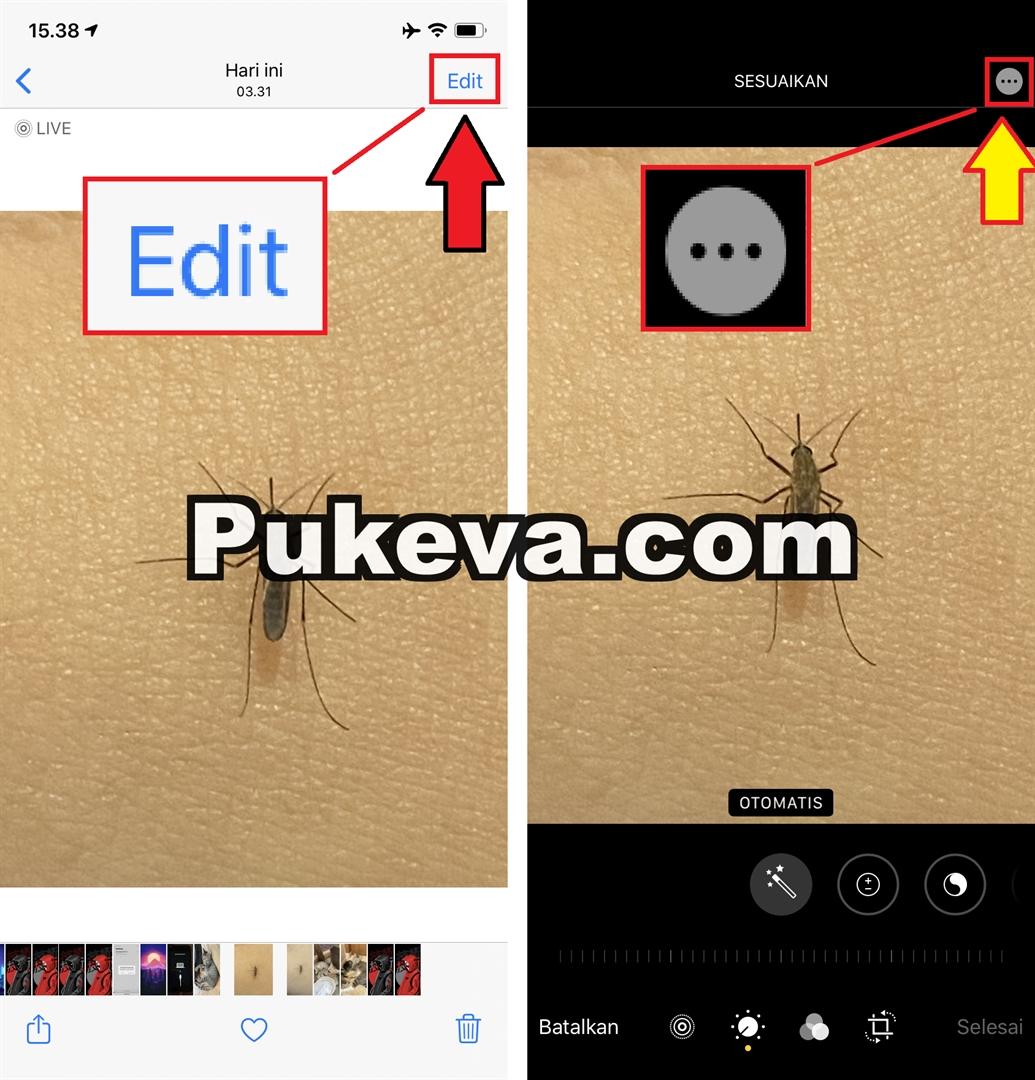 Cara Edit Foto di iPhone dengan Tulisan, Coretan, Tanda ...